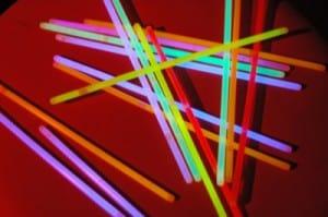 pulseras de neon